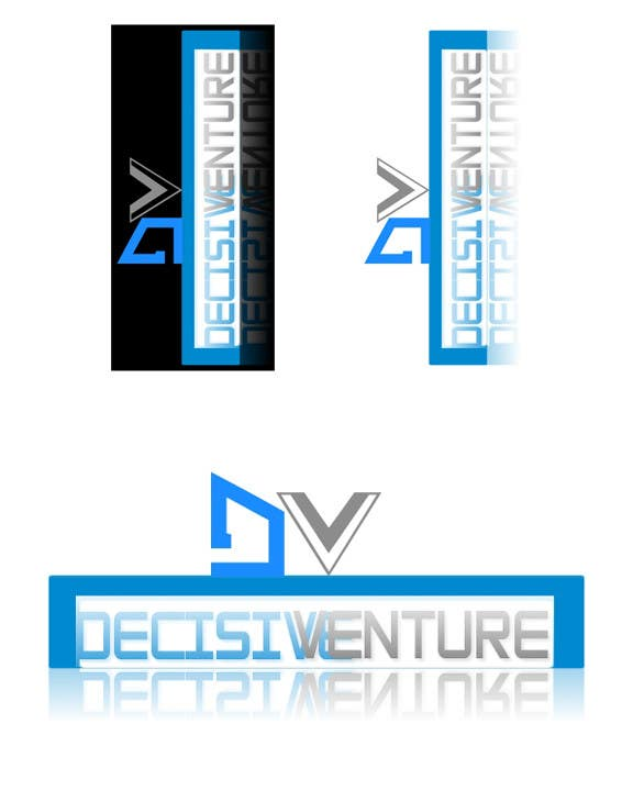 Bài tham dự cuộc thi #                                        348                                      cho                                         Logo Design for Decisive Venture