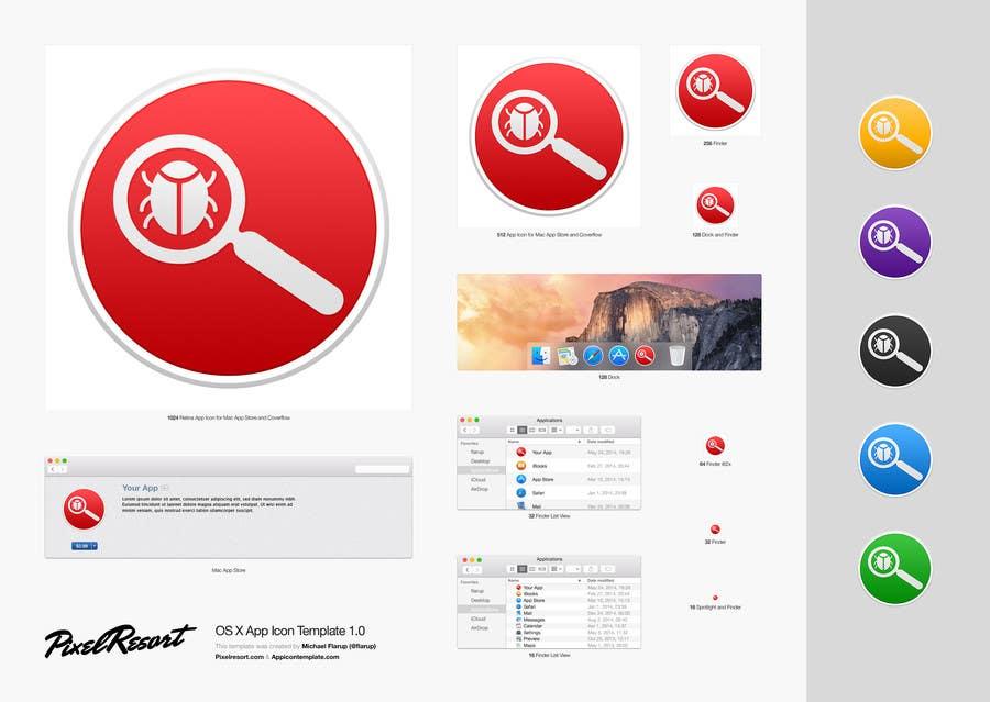 Entry #442 by c2apurva for Antivirus Mac App Icon | Freelancer