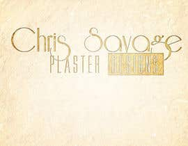 #11 cho Graphic Design for Chris Savage Plaster Designs bởi mykferrer