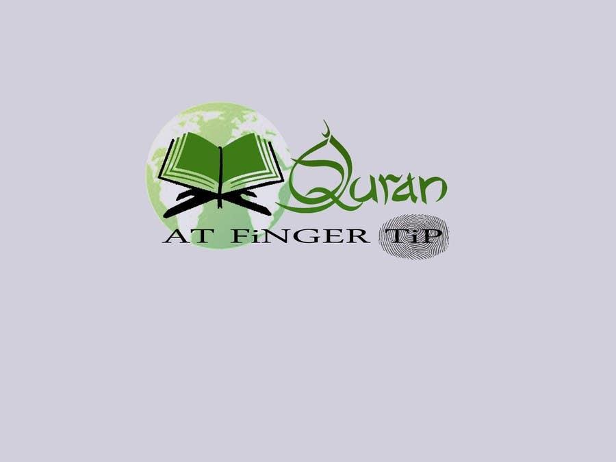 Konkurrenceindlæg #16 for Design a Logo for Quran at Fingertip