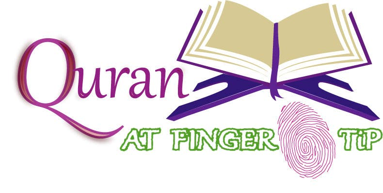 Konkurrenceindlæg #56 for Design a Logo for Quran at Fingertip