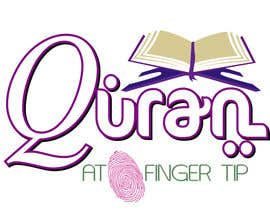 #59 para Design a Logo for Quran at Fingertip por dsilva338