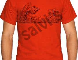 salvipratap87 tarafından Design funny animal t-shirt için no 11