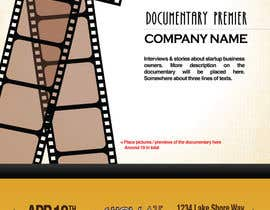 #19 untuk Design a Flyer for a business documentary oleh tomatoisme