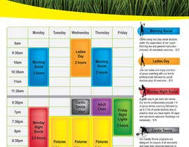 #5 for Editable Adult Class Timetable by venkatjvk