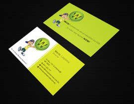 mdahmed2549 tarafından Design a Business Card and modify logo as a STICKER on a funky light bus. card için no 30