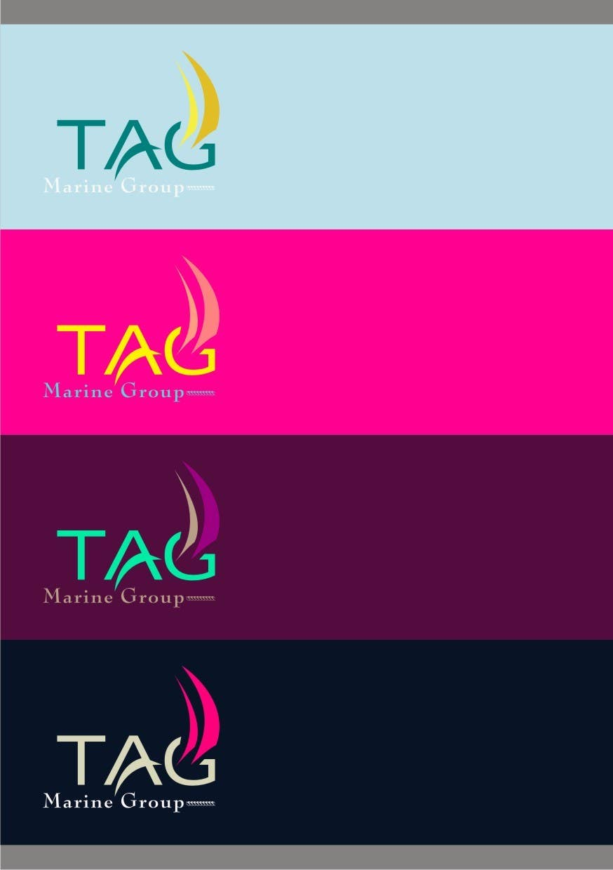 #46 for Logo Design for TAG Marine group by paramiginjr63