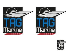 nº 65 pour Logo Design for TAG Marine group par mishyroach