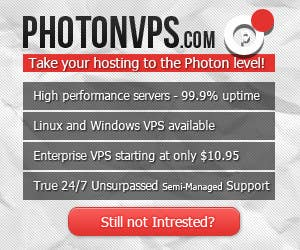 Bài tham dự cuộc thi #                                        6                                      cho                                         Banner Ad Design for PhotonVPS