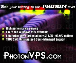 Konkurrenceindlæg #                                        4                                      for                                         Banner Ad Design for PhotonVPS