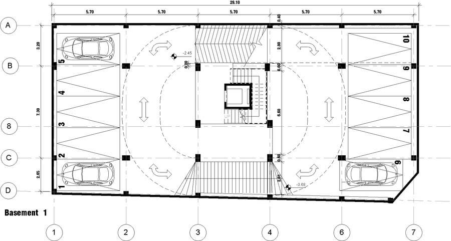 28 parking floor plan amazing pinterest the world s House plan with basement parking
