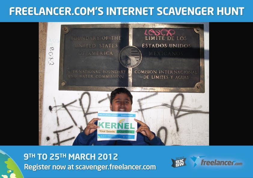 Inscrição nº 62 do Concurso para Freelancer.com Scavenger Hunt People's Choice Image Award