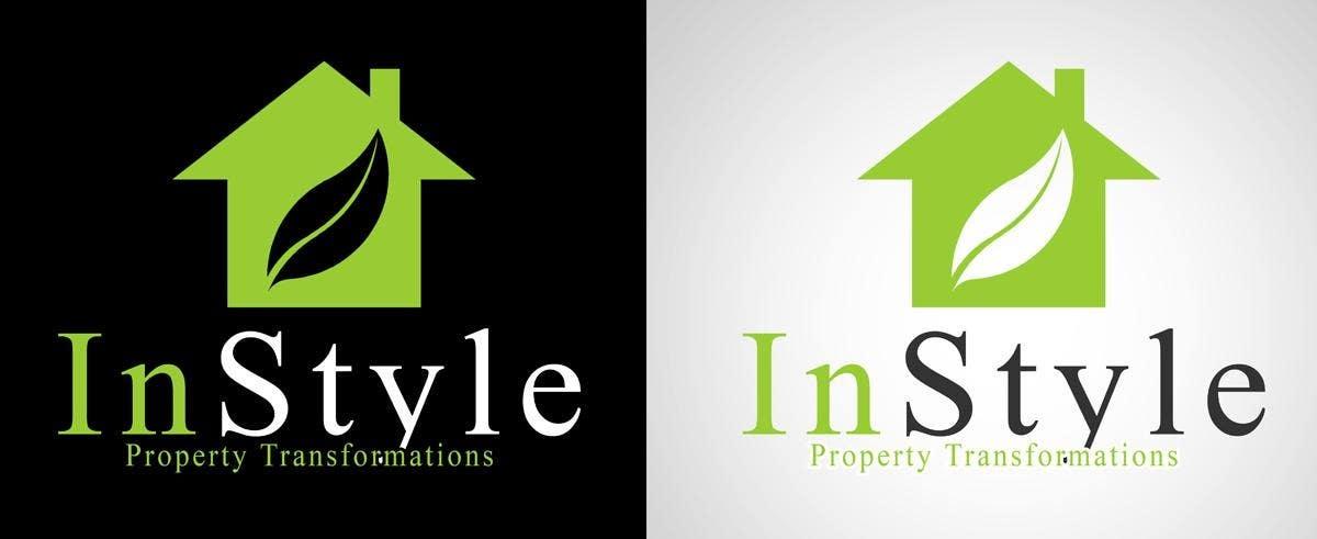 """Intrarea #236 pentru concursul """"Logo Design for InStyle Property Transformations"""""""
