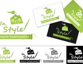 #192 para Logo Design for InStyle Property Transformations por UtopianMeego