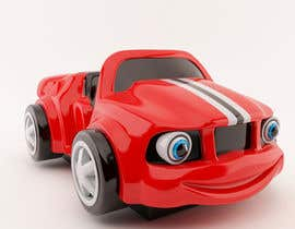 #40 untuk Do some 3D Modelling - Create Kiddie Ride - Race Car oleh peterkunstbahn