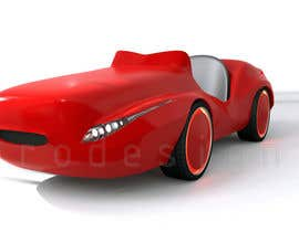 #29 untuk Do some 3D Modelling - Create Kiddie Ride - Race Car oleh prodesign90