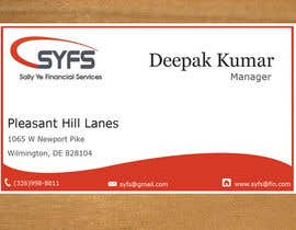 #39 untuk Design a logo and business cards for an accounting firm oleh dipakart