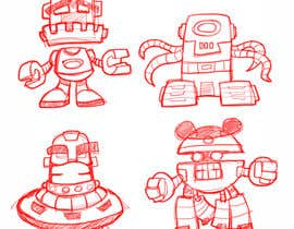 #15 cho Funny Monster Robot Illustrations Wanted bởi MyPrints