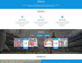 #22 for Design a Clean and Professional Website Mockup by aryamaity