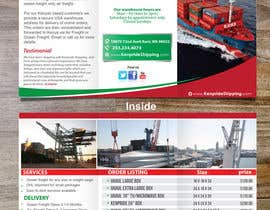 #8 for Design a Brochure for shipping company af dindinlx