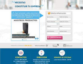 #27 para Landing Page (Visual Design Optimization) por sweetys1