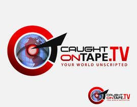 #1293 untuk Design a Logo for Caught On Tape TV oleh stamarazvan007