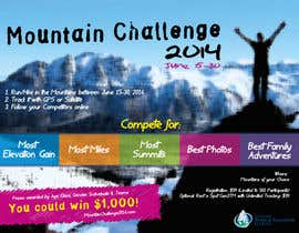 #8 untuk Design a Flyer/Poster for a Mountain Adventure Event oleh amaydualk