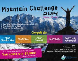 #16 untuk Design a Flyer/Poster for a Mountain Adventure Event oleh amaydualk