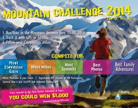 #50 untuk Design a Flyer/Poster for a Mountain Adventure Event oleh amaydualk