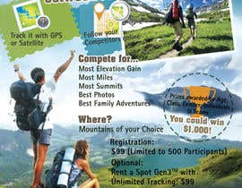 #22 untuk Design a Flyer/Poster for a Mountain Adventure Event oleh marcia2