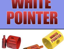 #10 for White Pointer Holesaw Design by abdougrou