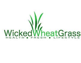 #73 for Design a Logo for Wicked Wheatgrass af DaveBomb