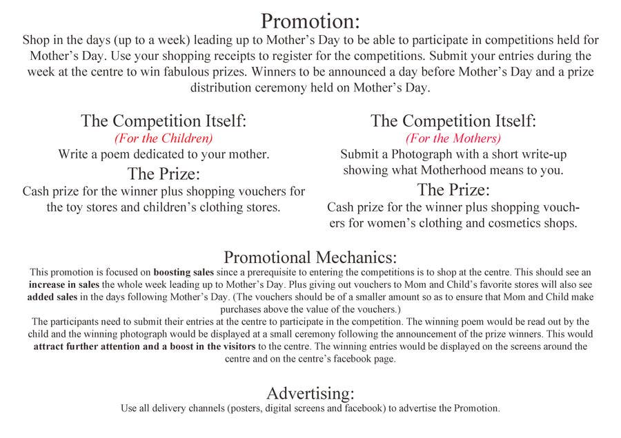 #16 for Mothers Day Promotional idea by znjavid