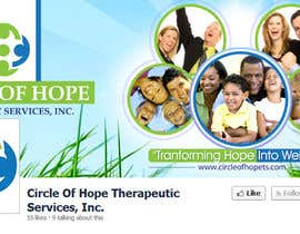 #30 cho Design a Facebook landing page for Circle of Hope Therapeutic Services, Inc. bởi eshad222