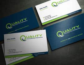 #11 for Business Cards for Cleaning Company by ezesol