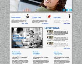 nº 7 pour Projetar a Maquete de um Website for Consulting Company par mishok123