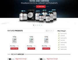 Nro 40 kilpailuun Projetar a Maquete de um Website for Consulting Company käyttäjältä online3