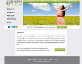 #53 for Projetar a Maquete de um Website for Consulting Company by logon1