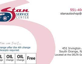 #17 para Design some Business Cards for Stan Service  center need Log/business Card/Flyer/Key chain/oil sticker por wood74
