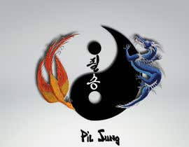 #8 untuk I need some Graphic Design for a Dragon & a Phoenix wrapping the outside of a Yin-Yang pattern and the Korean characters for Victory in the middle oleh naveenravi19