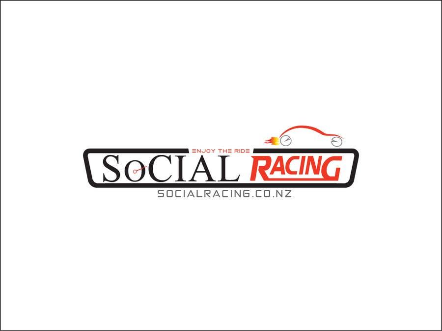 Kilpailutyö #44 kilpailussa Logo Design for Social Racing