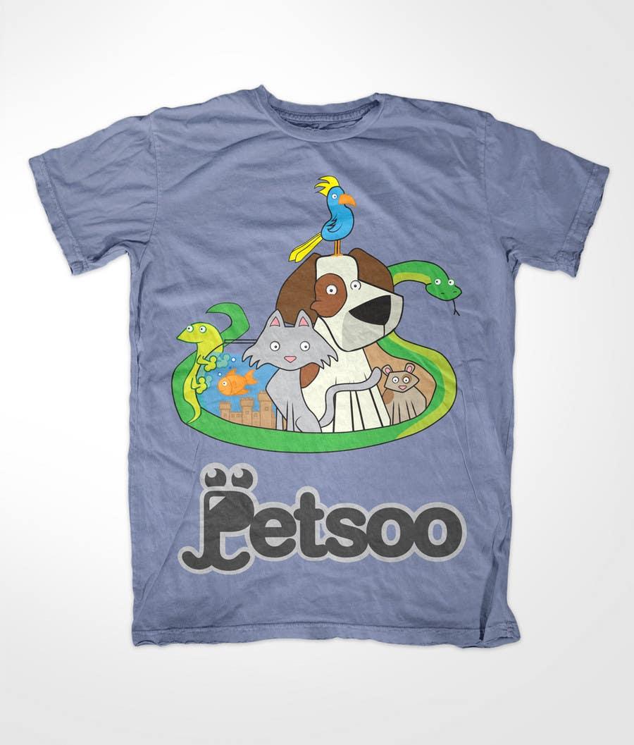 Contest Entry #                                        115                                      for                                         T-shirt Design for Petsoo
