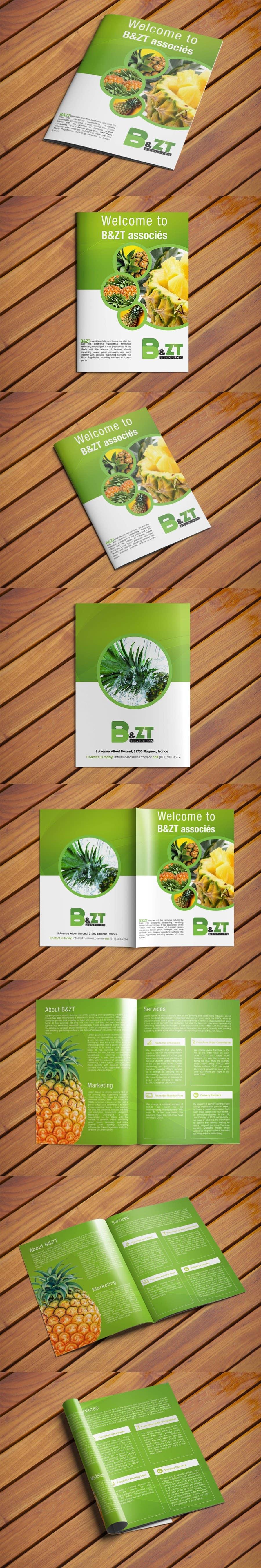 Proposition n°13 du concours Design a brochure + logo