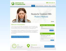Nro 11 kilpailuun Design a Website Mockup for а Headache Center - Improve Current Design käyttäjältä atularora
