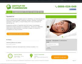Nro 7 kilpailuun Design a Website Mockup for а Headache Center - Improve Current Design käyttäjältä Ashleyperez