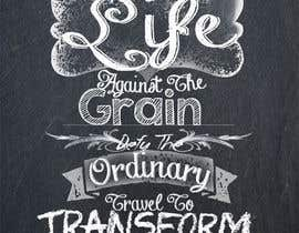 #11 for Design a Logo for Life Against The Grain wesite by caperuccita