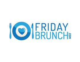 #77 for Design a Logo for www.fridaybrunch,com af ayogairsyad