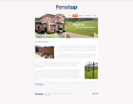 nº 20 pour Design a Website Mockup for Fensitup par layaweek