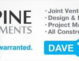 nº 1 pour Design a Banner for 'Elmpine Developments par jramos