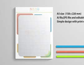 #31 for Design a A5 Memo, Notepad by hsheik